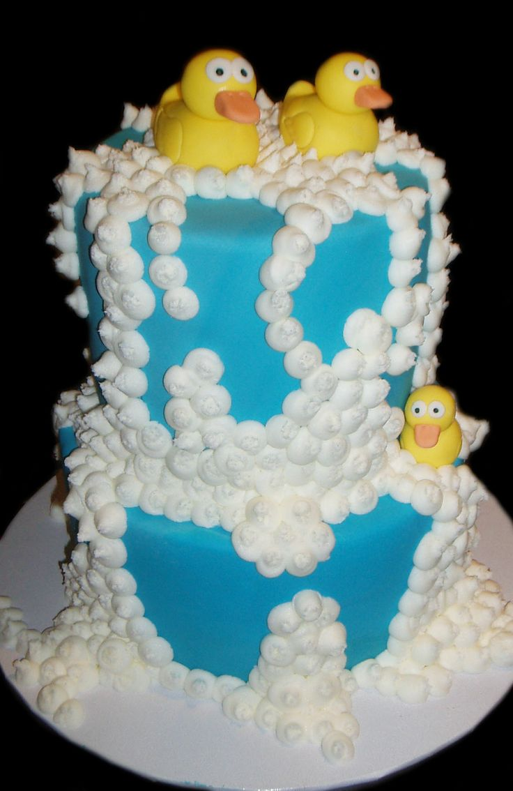 Ducks Baby Shower Cake - by Nada's Cakes Canberra