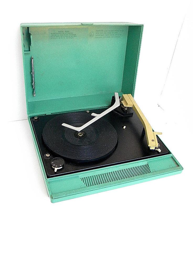 Sears Silvertone Portable Record Player