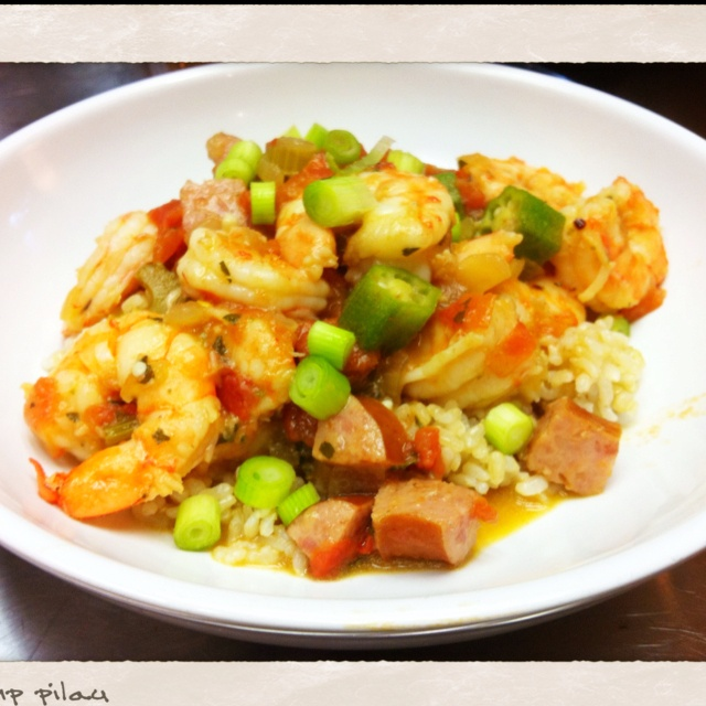 Shrimp Pilau. Sean Brock's recipe as printed in Southern Living.