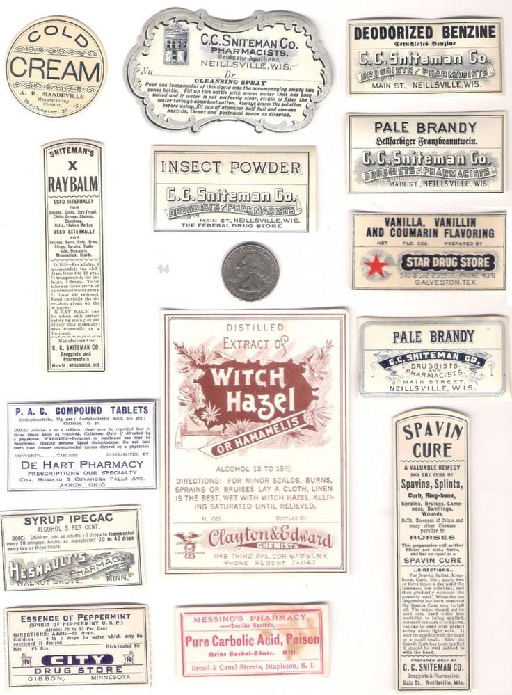 vintage medicine bottle label wwwimgkidcom the image