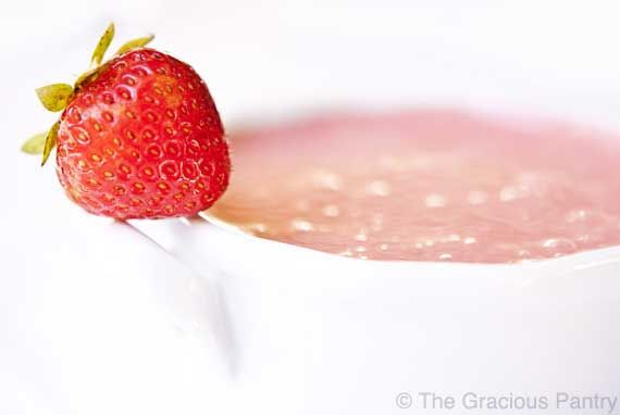Clean Eating Strawberry Soup...I'm really intrigued by this recipe. I ...