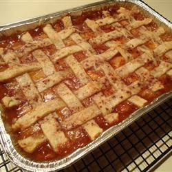 Old Fashioned Peach Cobbler | Yummy in the Tummy! | Pinterest