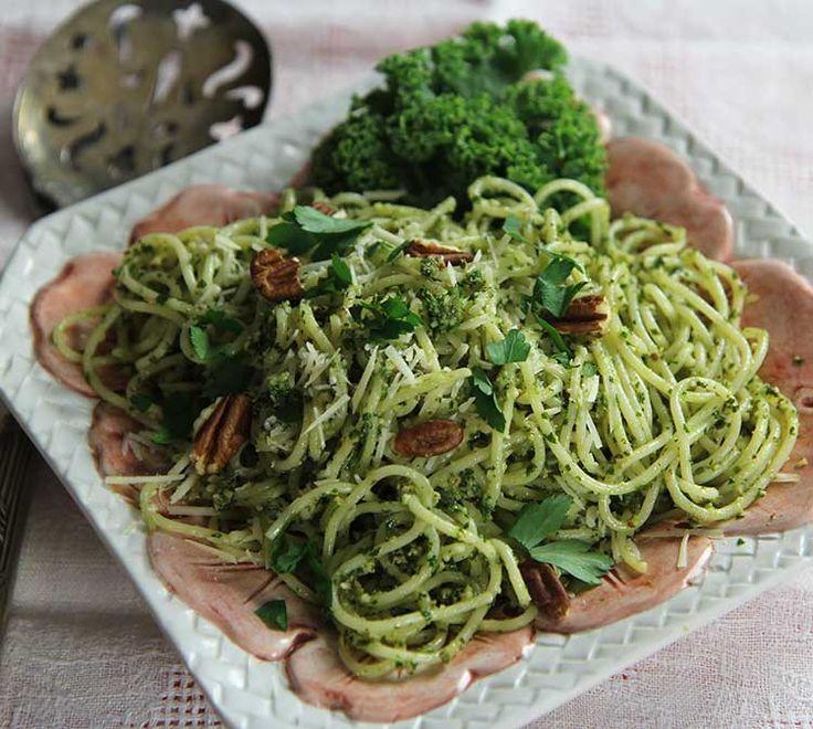 Kale Pesto #vegetarian #thanksgiving #holidays #recipe hilahcooking ...