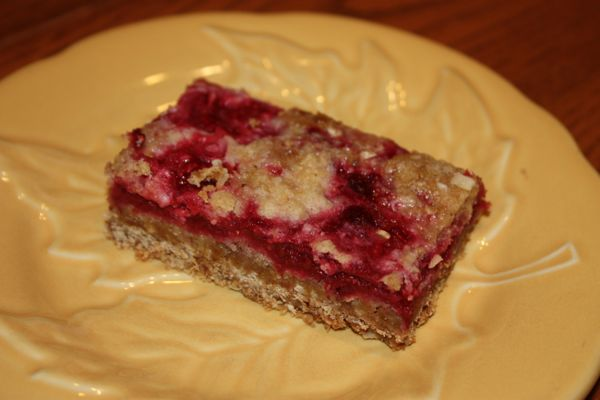 Raspberry Breakfast Bars | Yummy Stuff - Breakfast | Pinterest