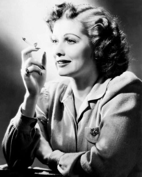 Lucille Ball photographed for RKO, 1941.