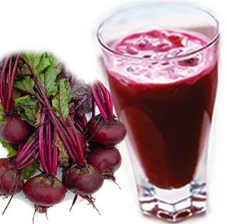 juice The ingredients are carrots, apple, beetroot, ginger, mint ...