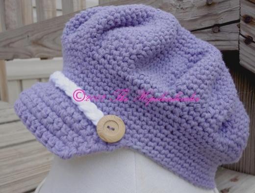 Crochet~ Brimmed Hat- Free Pattern Pregnancy/Baby ...