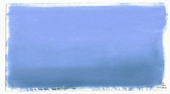 Ocean Water Pastel Color Therapy Drawing Original by EVHaven   6 50Ocean Water Drawing