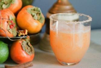 Persimmon Margarita Recipe | RECIPE CORNER