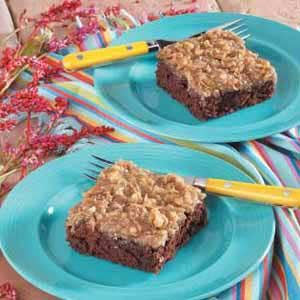 Chocolate Oatmeal Cake -- This recipe is from taste of home, but there ...