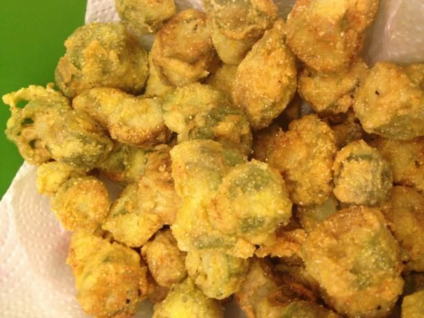 Fried Okra. Photo by Mommy2Summer
