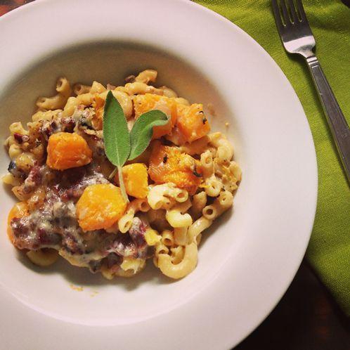 recipe No. 4: Butternut Squash Pasta Casserole with Gruyere and Pecans ...