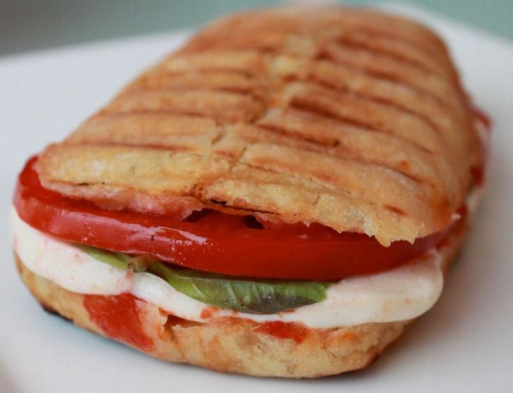 Tomato Basil Mozzarella Panini