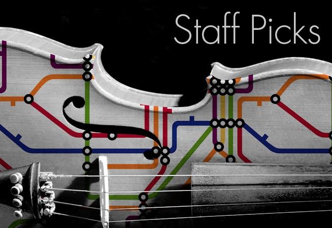 "Staff Picks - ""Take the A train"" wallpaper design"