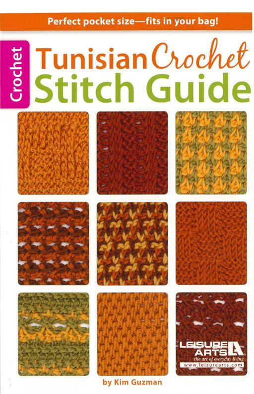 Crochet Stitches List : Tunisian Crochet Stitch Guide, Leisure Arts 75432