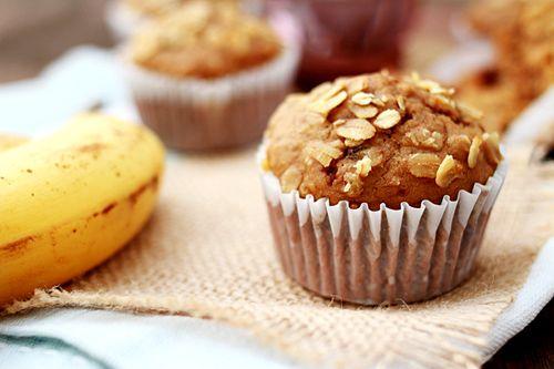 Banana Oatmeal Raisin Muffins | Easy Asian Recipes at RasaMalaysia.com