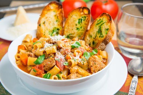 Pasta e Fagioli Soup (Italian Pasta and Bean Soup) | Recipe