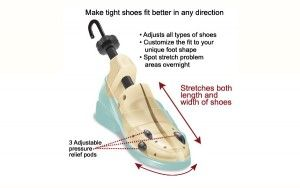 Tips to make your shoes more comfortable.
