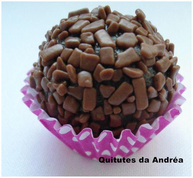 QUITUTES DA ANDRÉA: Docinhos de nutella