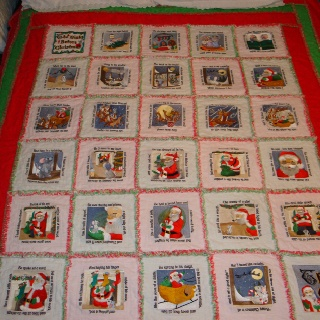 The Night Before Christmas quilt | Ann's Sewing Projects | Pinterest