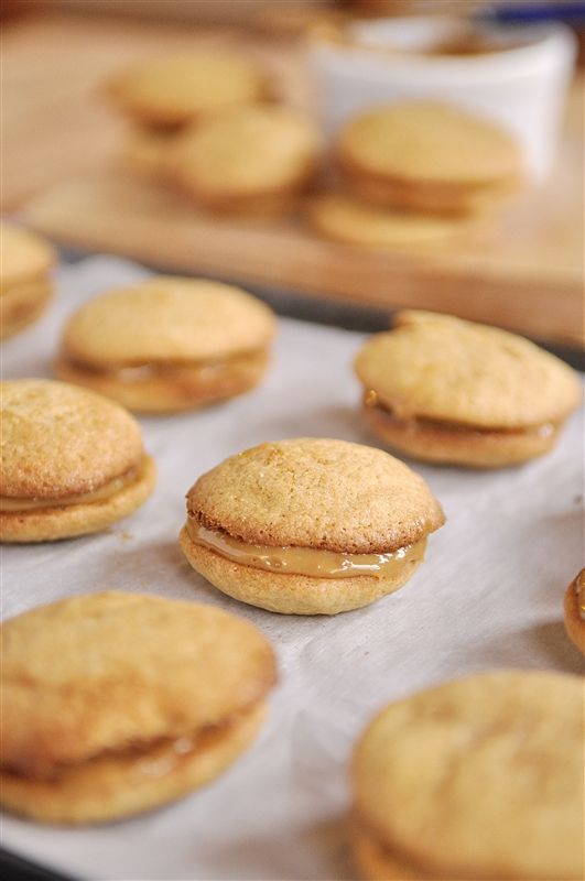 Dulce de Leche Sandwich Cookies | Recipe