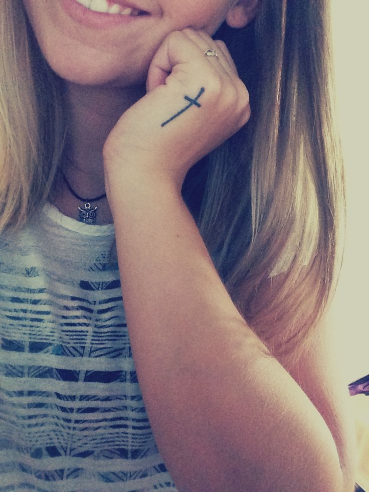 --small cross on side of left hand-- #tattoos # ...