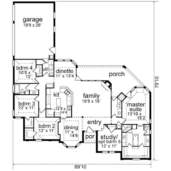 Garage By Back House Plans Pinterest