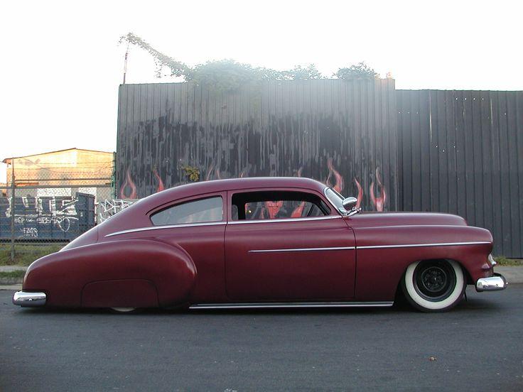 Classic American car : 1950 Chevrolet.  Vintage Chevrolet  Pinterest