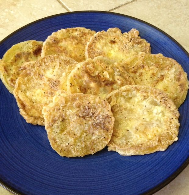 EASY Paleo Fried Green Tomatoes!