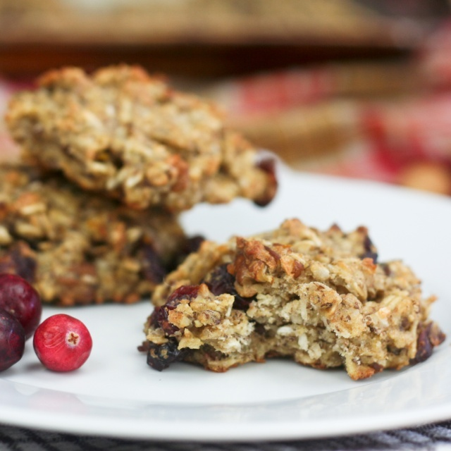 Healthy Oatmeal Cookies in Orange Cranberry by Sonia of The Healthy ...
