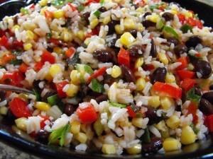 Rice beans and corn salad | Food | Pinterest