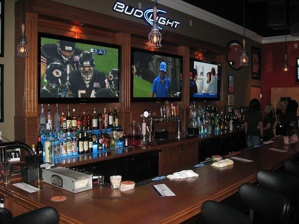 Sports Bar Bar And Lounge Pinterest