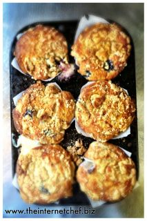 Blueberry Maple Cheesecake Muffins | food ideas | Pinterest