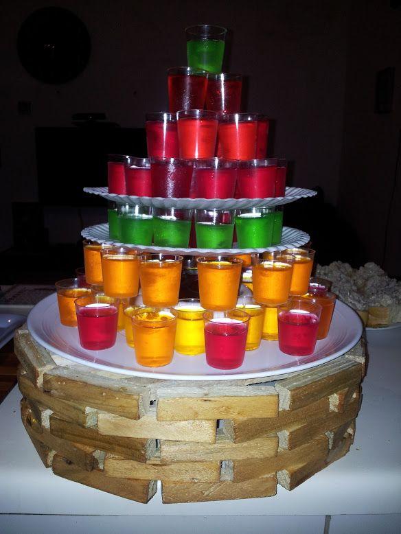 Jello shot cake | ~ JELLO Shot Recipes | Pinterest