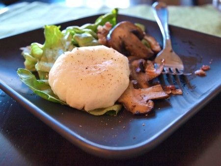 ... , and Poached Egg Salad (also a cool, easy way to poach an egg