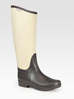 Hunter Regent Rain Boots @ Saks