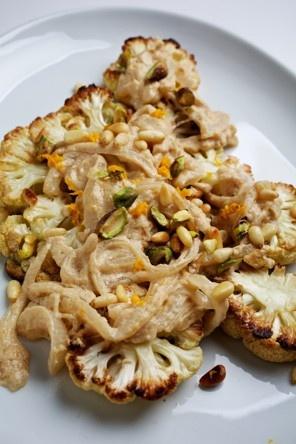 Roasted Cauliflower With Citrus-Tahini Sauce Recipe Details | Recipe ...