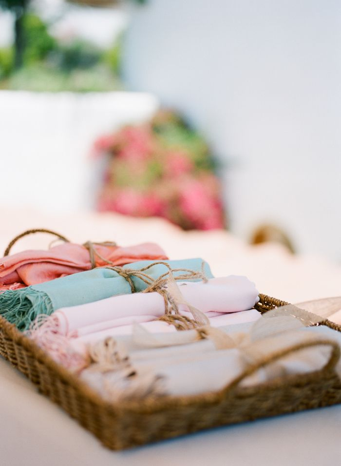 Pashmina wedding favors