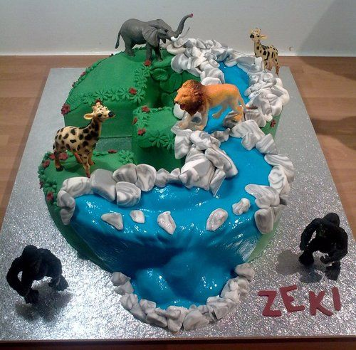 really cool birthday cake | birthday cakes | Pinterest