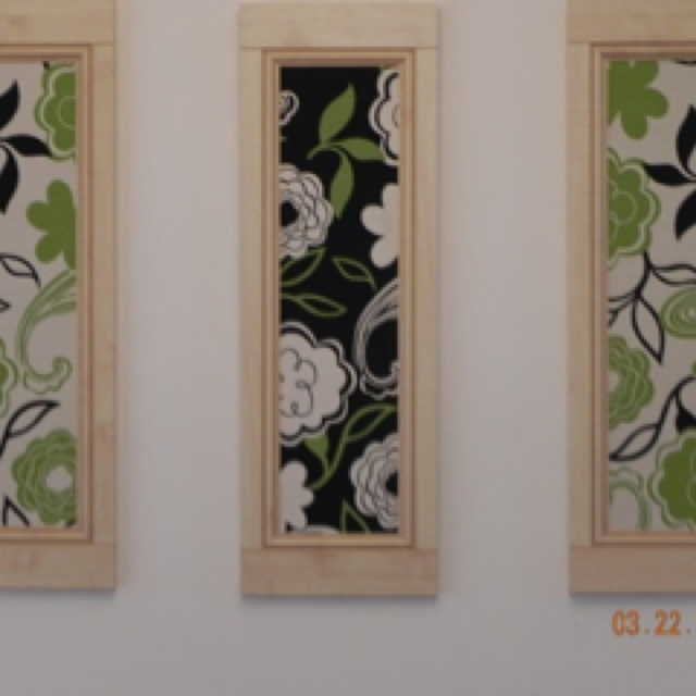 Diy framed fabric home ideas decor pinterest for Diy fabric picture frame
