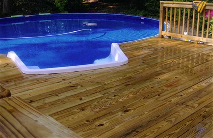 Bing above ground pool decks pool and or hot tub ideas pinterest - Above ground pool steps for decks ...