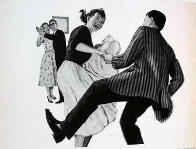 ... by Tam Francis on the Art of Swinging Vintage: Clip art & Line ar
