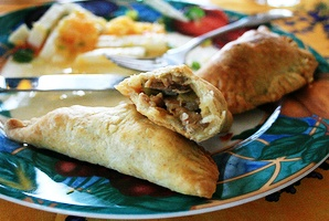... Baking Adventure for All! - Chicken Empanadas with Chorizo and Olives