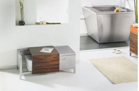 Hidden toilet in bench rv reno pinterest