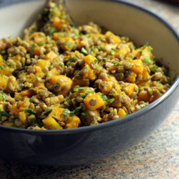 Butternut Squash With Black Beans And Walnuts Recipe ...