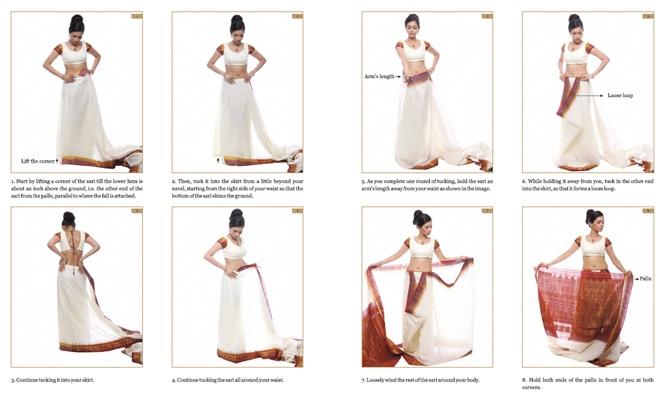 How To Drape A Sari