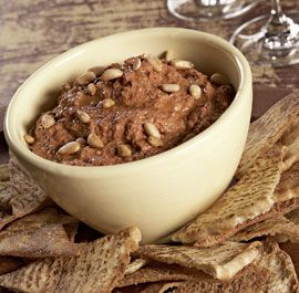 Roasted Red Pepper & Walnut Dip with Pomegranate Molasses by Jennifer ...