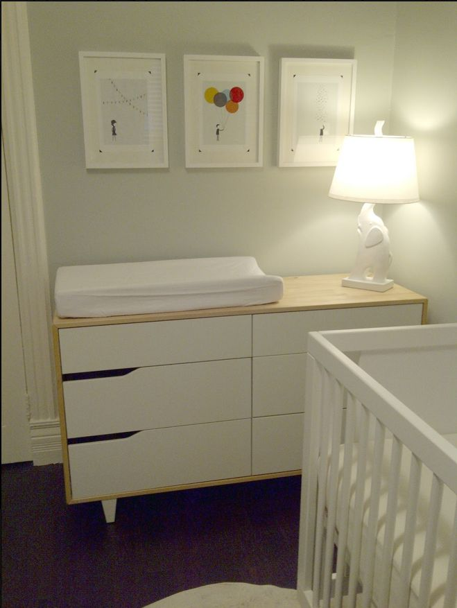 IKEA Mandal Dresser changing table  use a xresser sd a changing