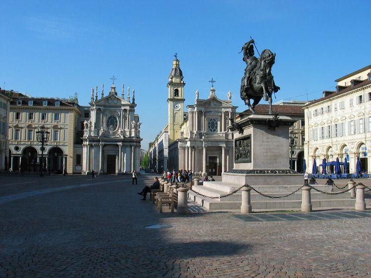 Piazza San Carlo - Turin   Milan - Turin   Pinterest