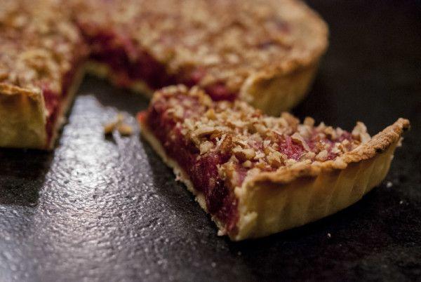 Cranberry Pecan Tart | yummies | Pinterest